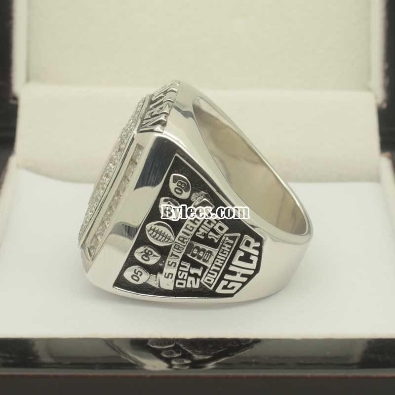 2009 OU Football Championship Ring (Big Ten Champions)
