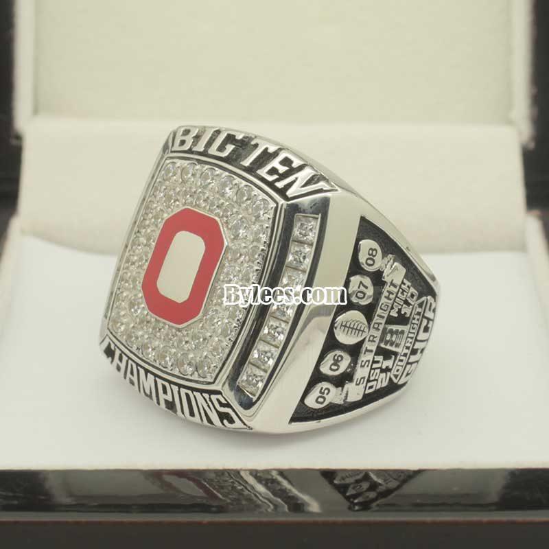 2009 OSU Ohio State Buckeyes Big Ten Championship Ring