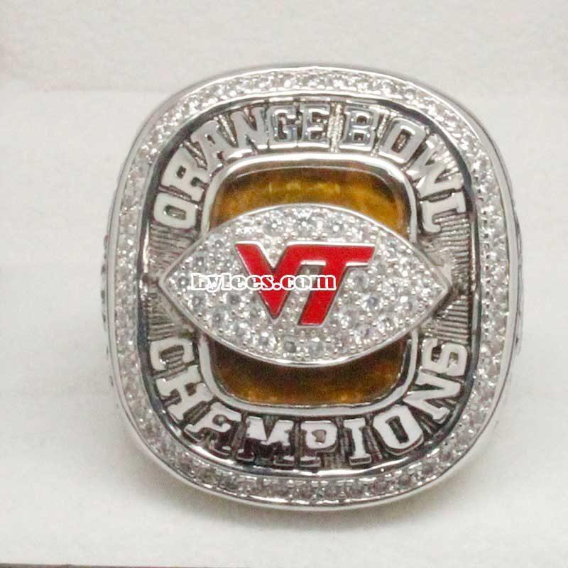 2009 Virginia Tech Hokies Orange Bowl Championship Ring