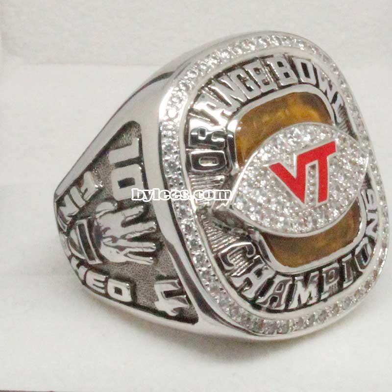 2009 Virginia Tech Football Championship Ring
