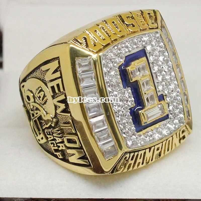 2010 Auburn Tigers SEC Championship Ring