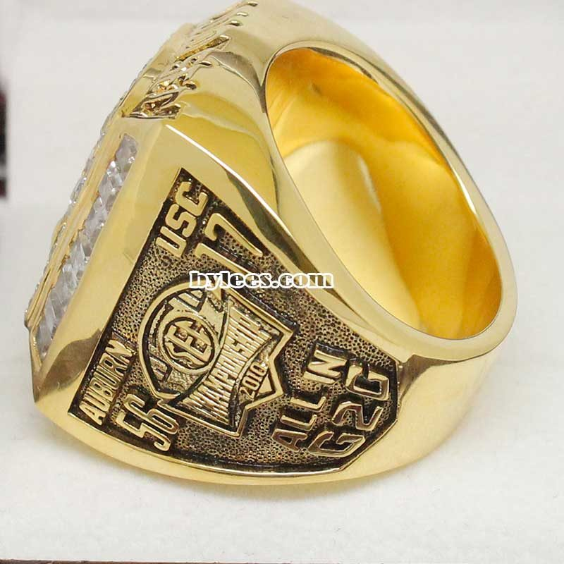 2010 UA Tiger SEC Championship Ring