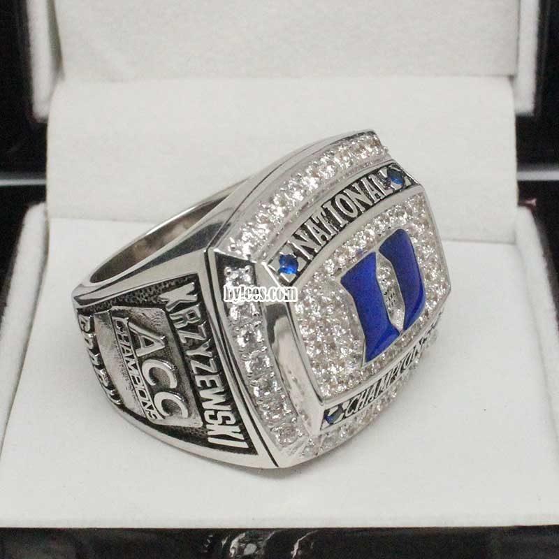 2010 Duke Basketball National Champions Ring