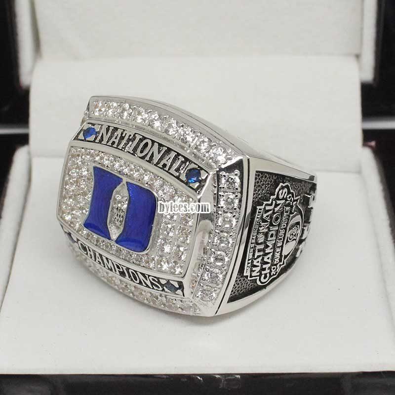 2010 Duke Blue Devils Basketball National Championship Ring