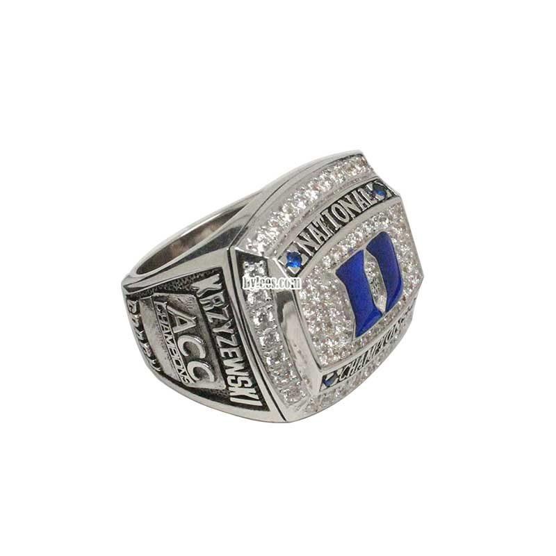 2010 University of Duke Basketball National Championship Ring
