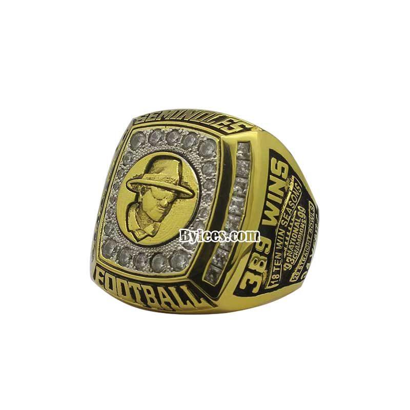 2010 FSU Seminoles Gator Bowl Championship Ring