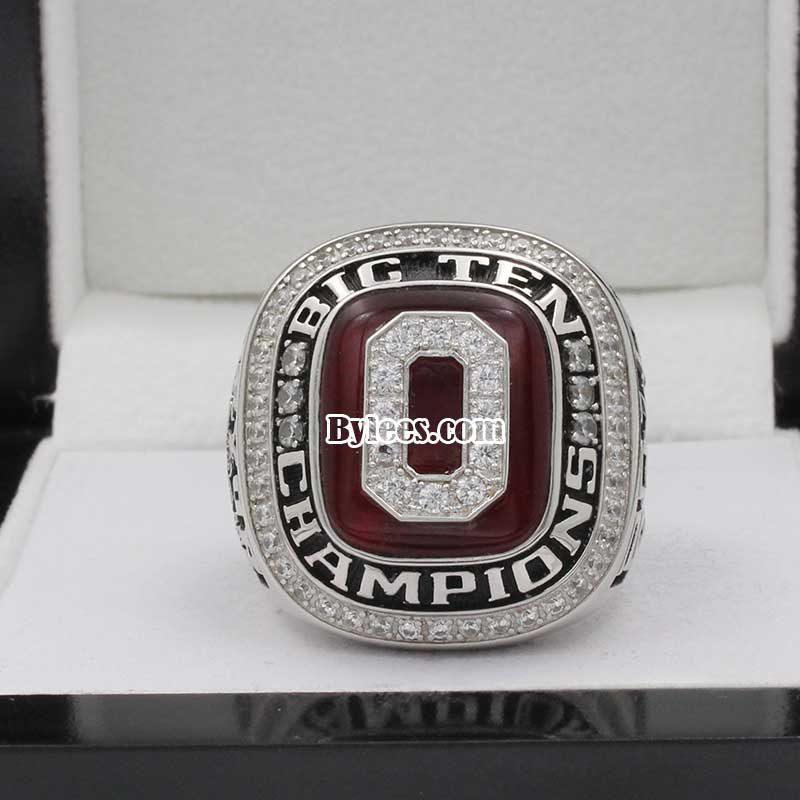 2010 Ohio State Sugar Bowl and Big Ten Championship Ring