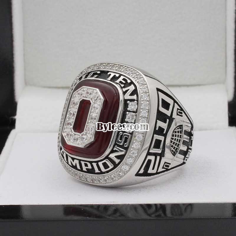 2010 OU Sugar Bowl and Big Ten Championship Ring