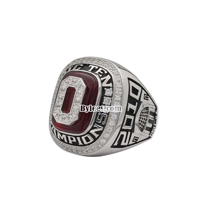 2010 Ohio State Buckeyes Championship Ring (Super Bowl and Big Ten)