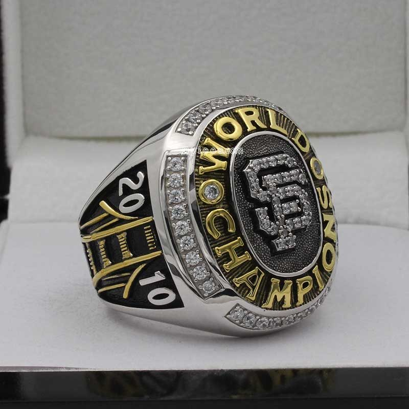 sf giants 2010 world series ring