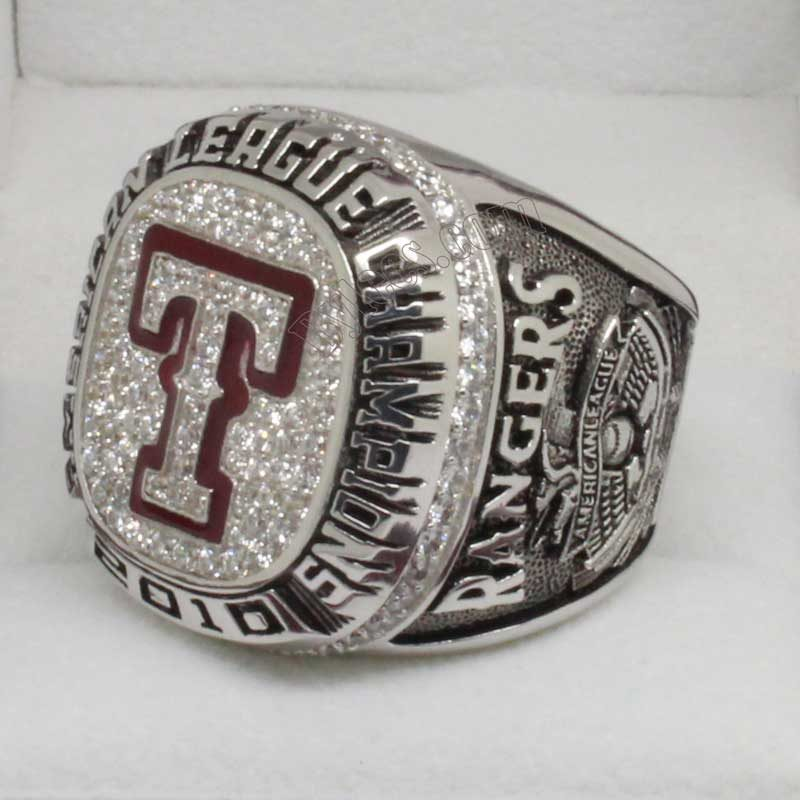 2010 texas rangers championship ring
