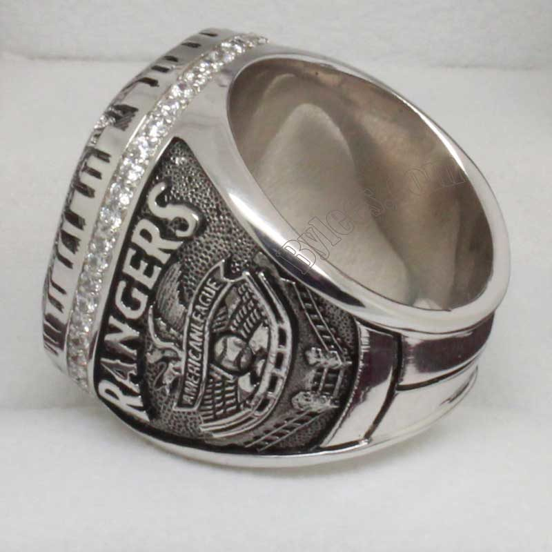Rangers Al championship ring in 2010