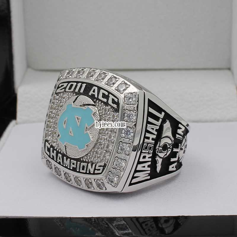 2011 North Carolina Tar Heels Basketball Championship Ring