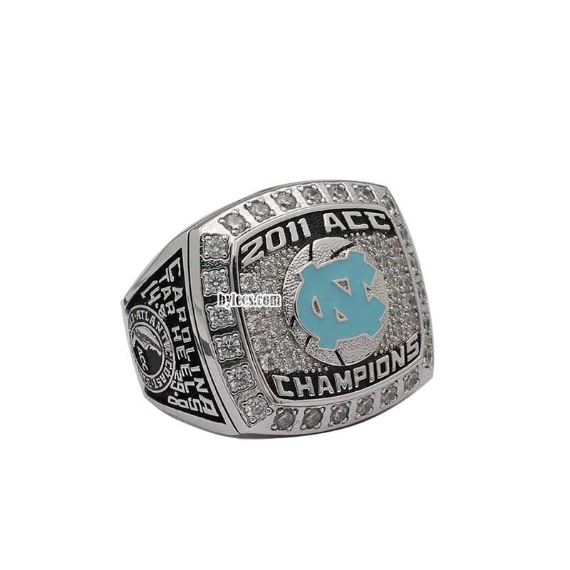 2011 North Carolina Tar Heels ACC Elite 8 Basketball Championship Ring
