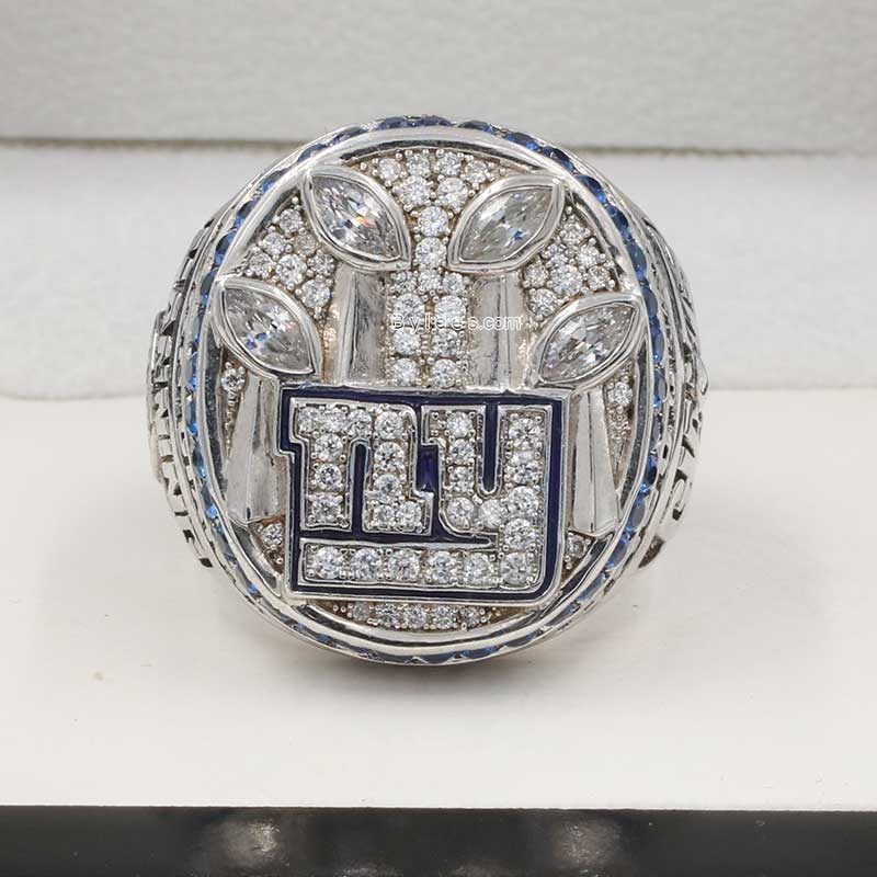 eli manning rings (2011 Super Bowl XLVI Champions)