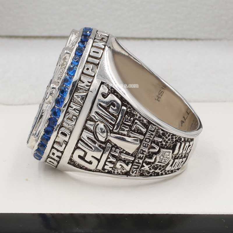 super bowl xlvi ring