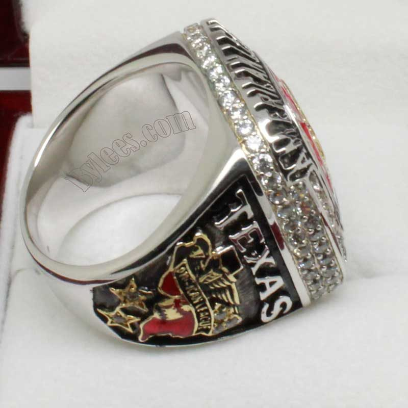 texas rangers championship ring in 2011