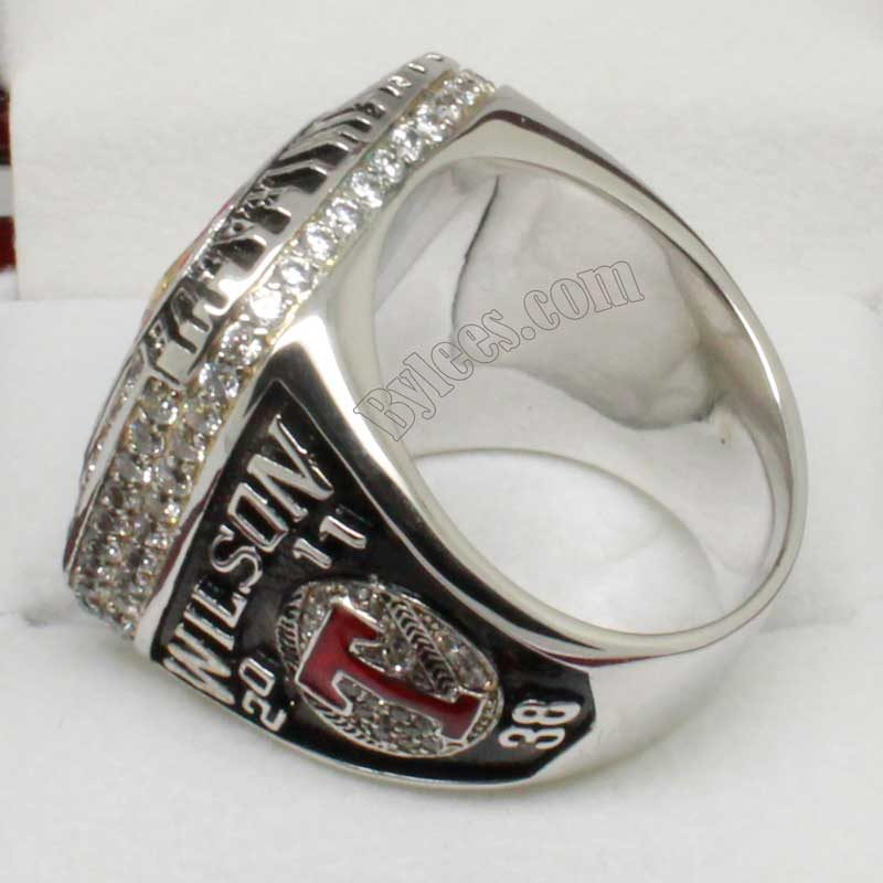 Rangers Al championship ring in 2011