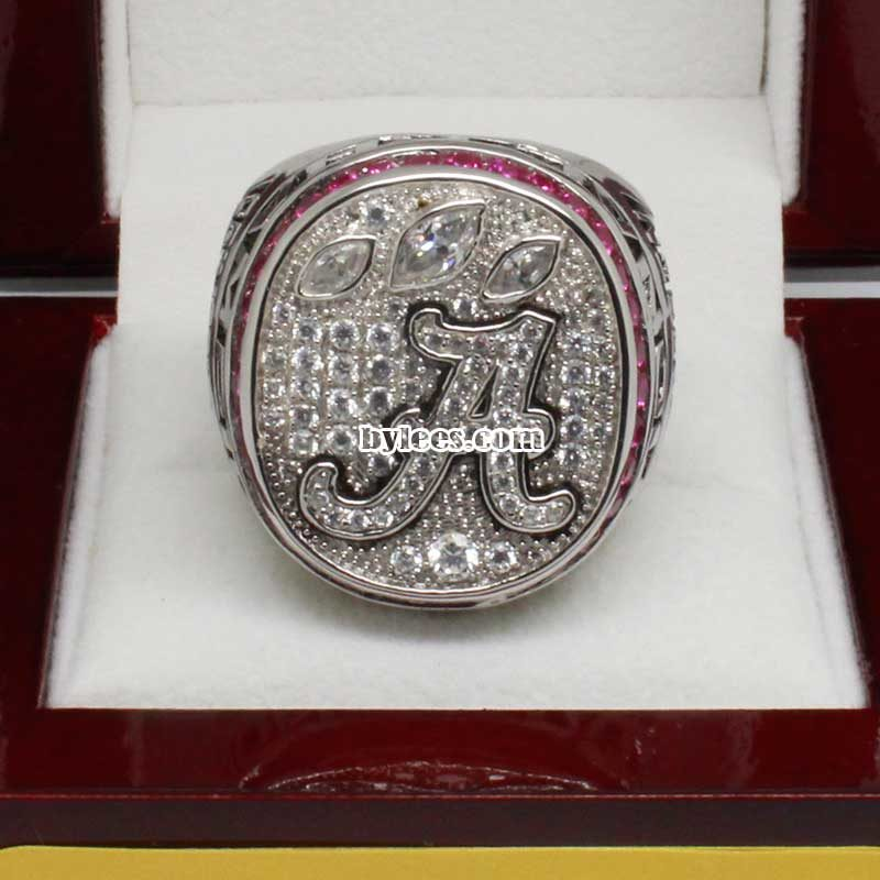 2012 Alabama Crimson Tide National Championship Ring