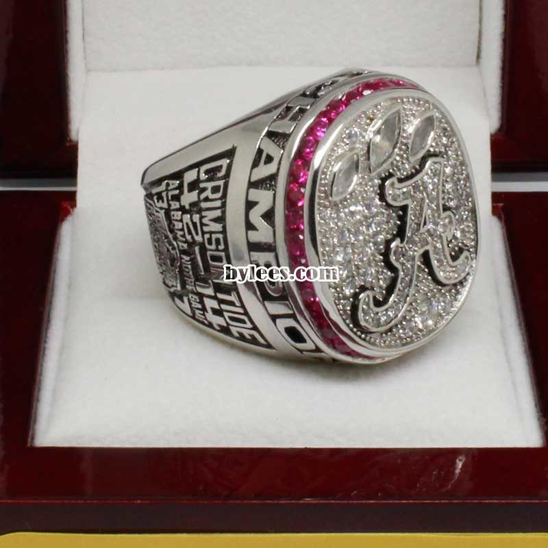2012 university of alabama National Championship Ring