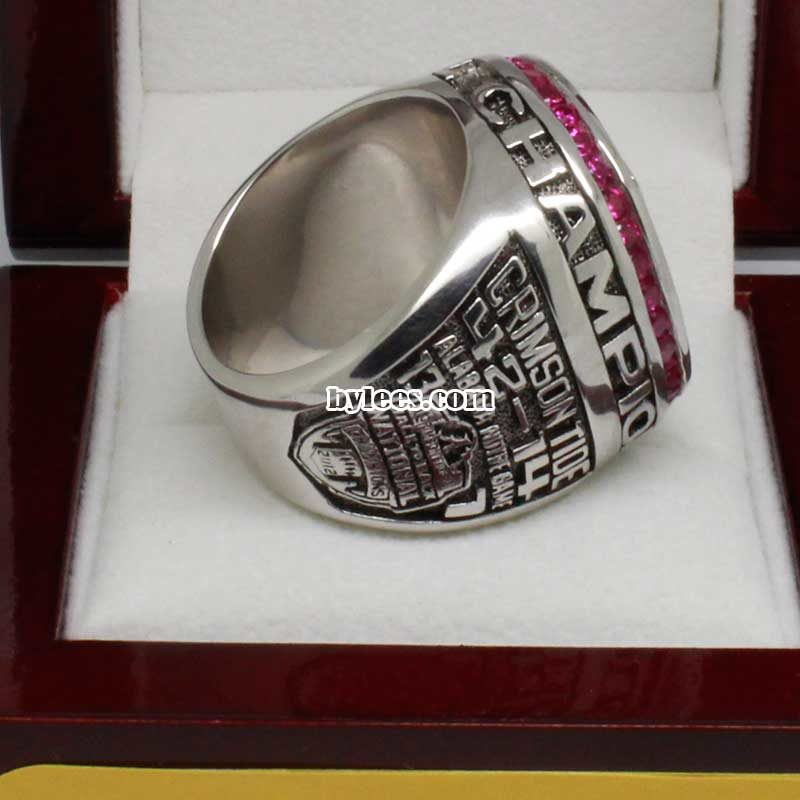 2014 bama Crimson Tide National Championship Ring