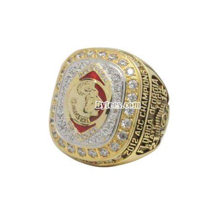 2012 FSU Florida State Seminoles ACC Championship Ring