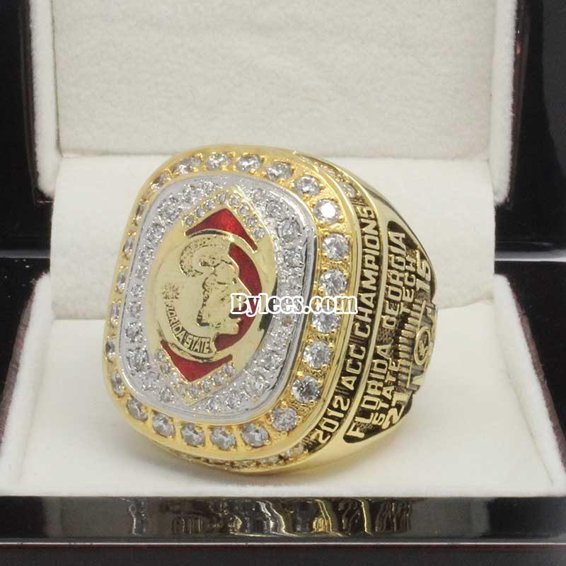 Florida State 2012 ACC Championship Ring