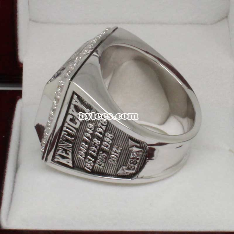 Kentucky Wildcats 2012 Basketball Championship Ring