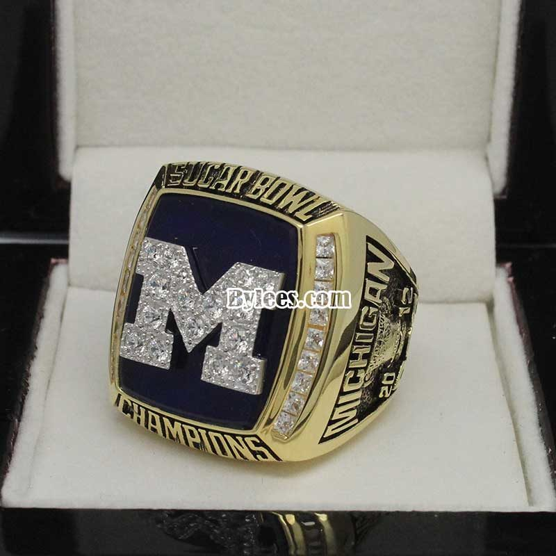 2012 Michigan Wolverines Sugar Bowl Championship Ring