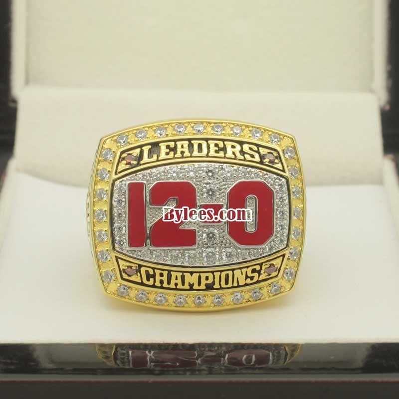 2012 Ohio State Big Ten Leaders Division Championship Ring