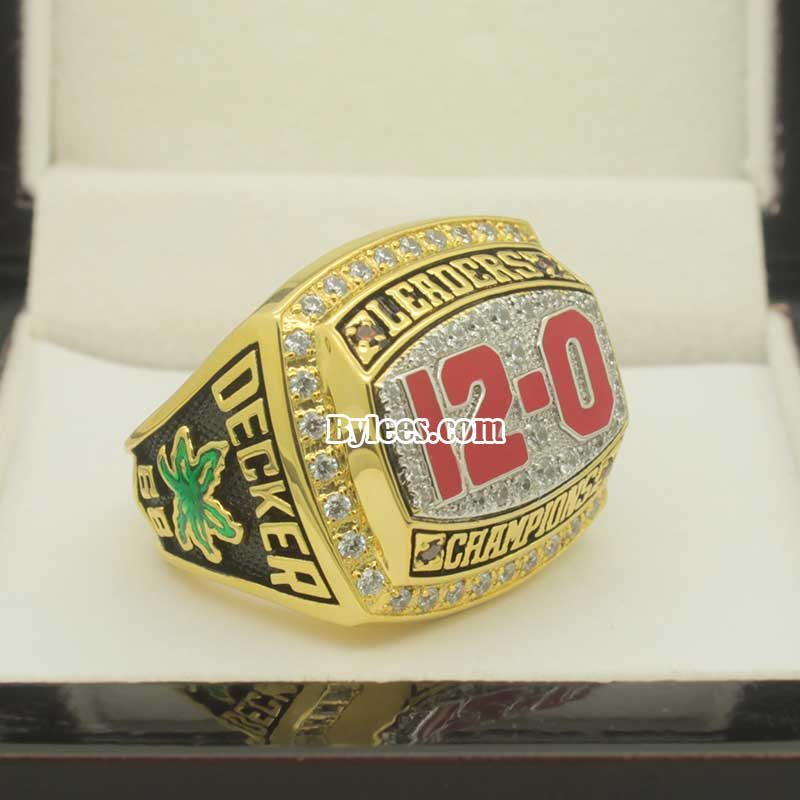 ohio state 2012 Big Ten championship ring