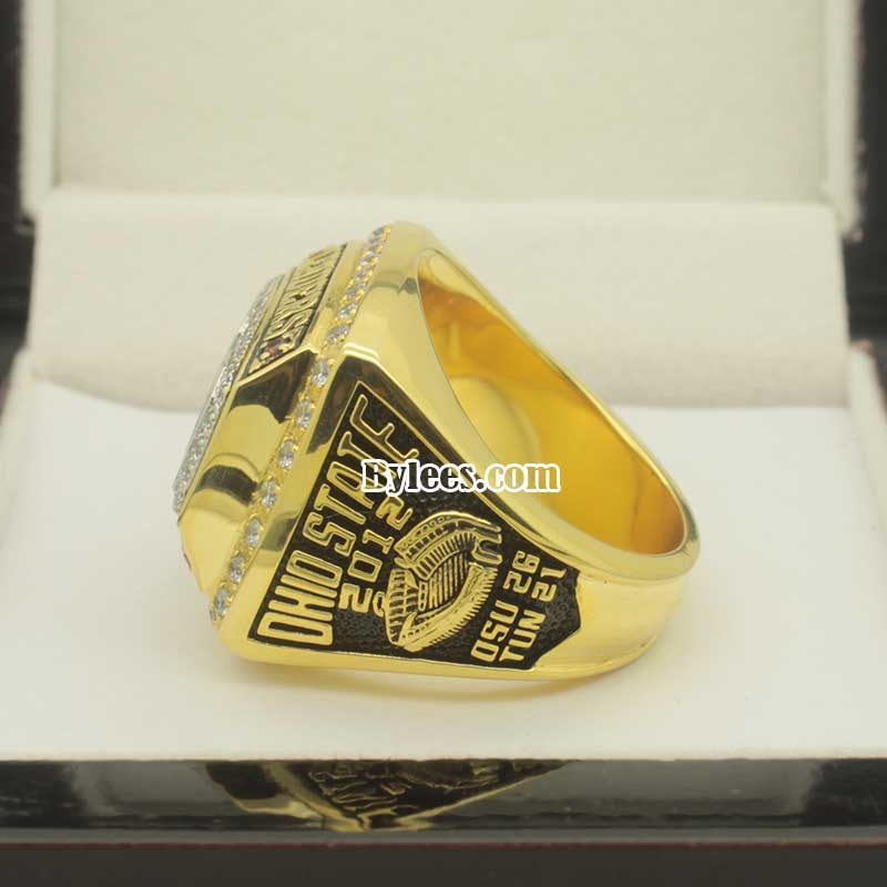 2012 OSU Championship Ring (Big Ten Leaders Division Title, they got undefeat with 12 to 0 )