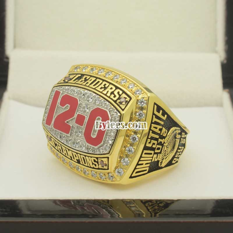 2012 Ohio State Buckeyes Big Ten Leaders Division Championship Ring