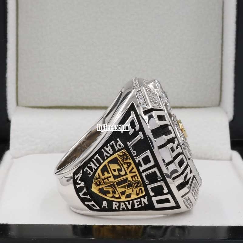 joe flacco rings ( 2012 Super bowl XLVII Champions)