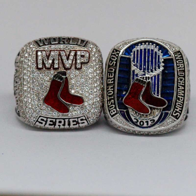 david ortiz mvp ring and 2013 world series ring for sale