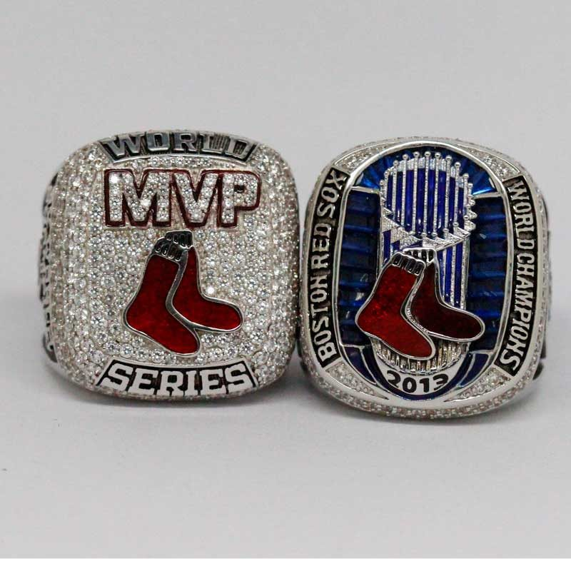 papi ring and 2013 red sox ring