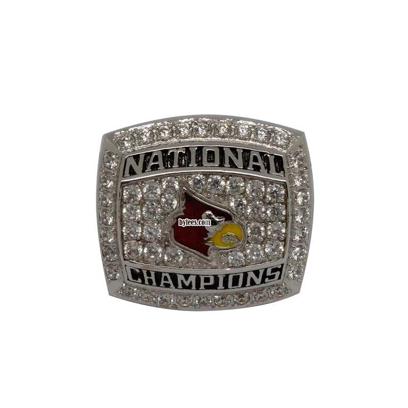 2013 Louisville Cardinals Football Championship Ring