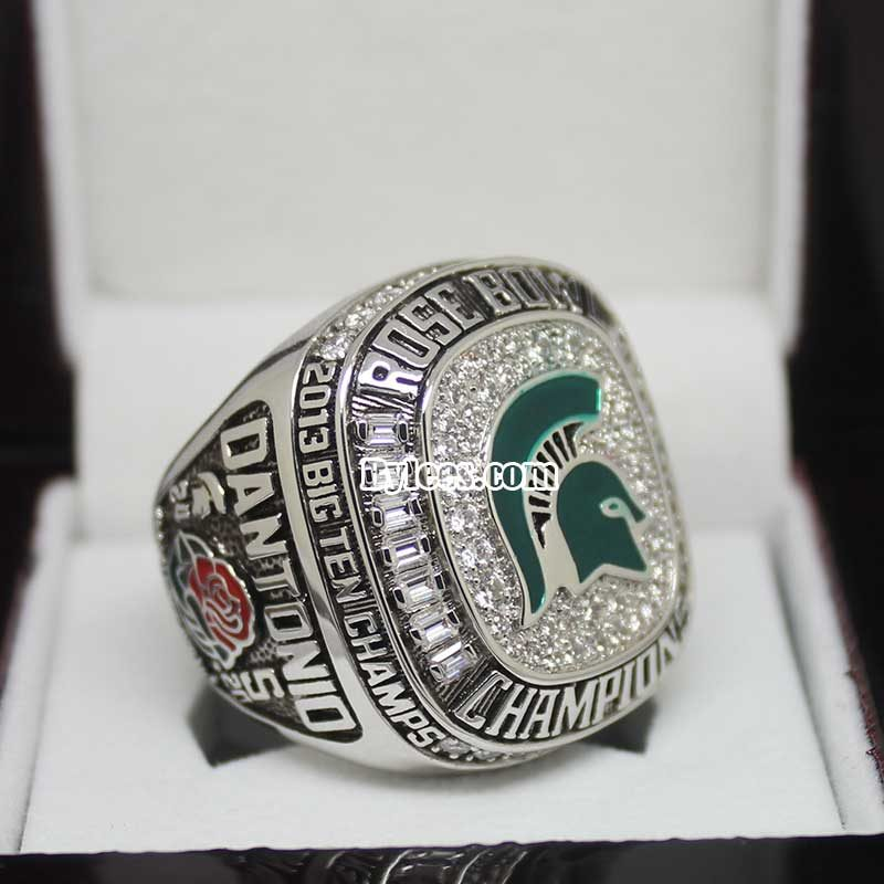 michigan state championship rings got a new member in the 2013 NCAA Division I FBS football season
