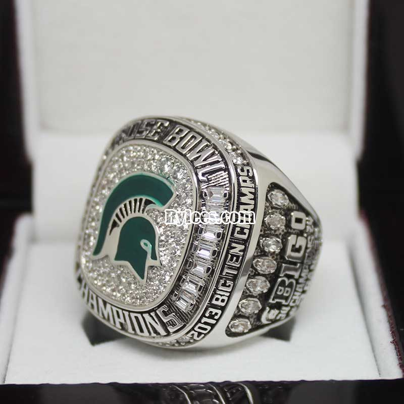2013 Michigan State Spartans Rose Bowl and Big Ten Championship Ring