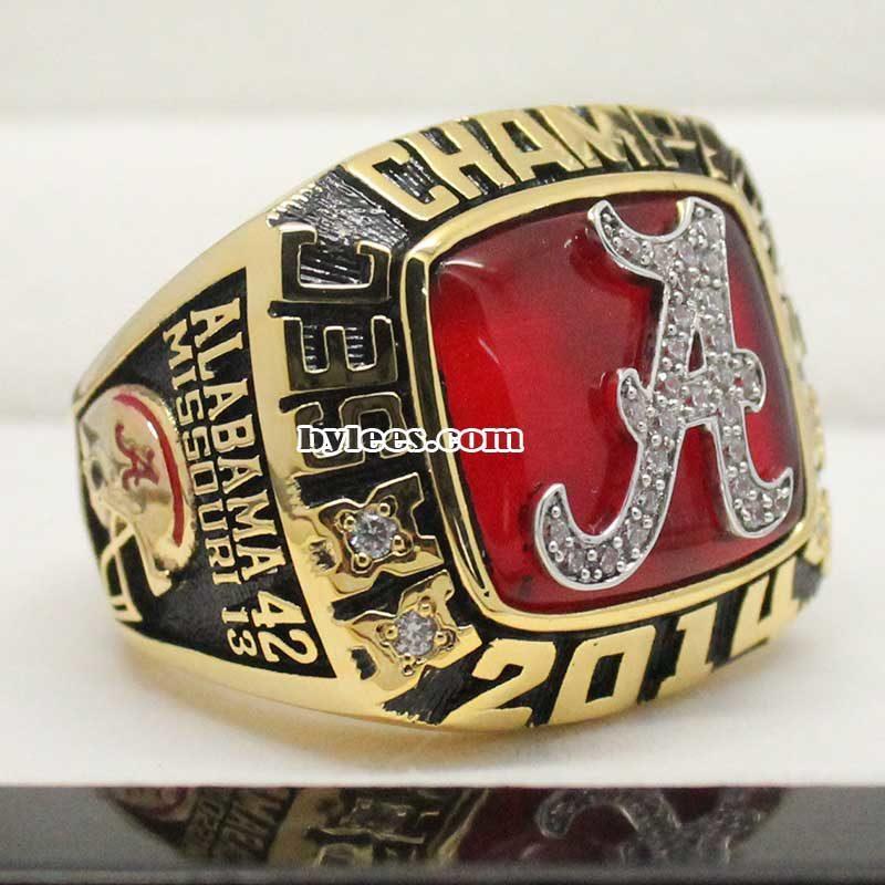 Alabama 2014 SEC Fan Championship Ring