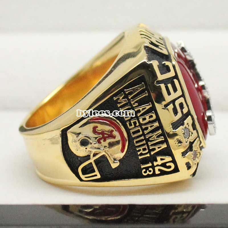 Alabama Crimson Tide SEC Fan Championship Ring 2014