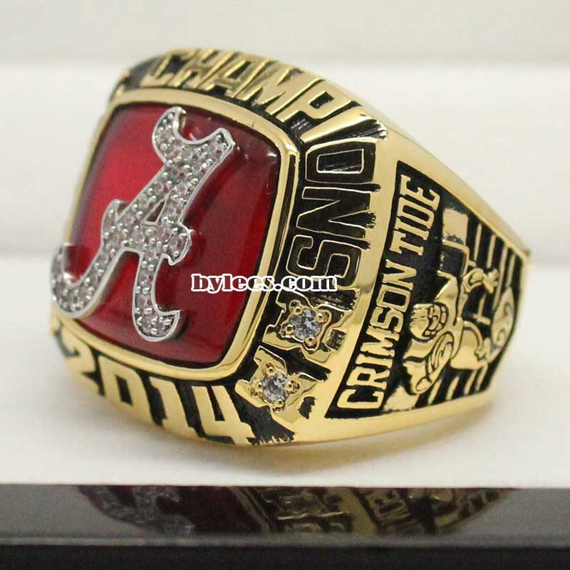 2014 Alabama Crimson Tide SEC Fan Championship Ring