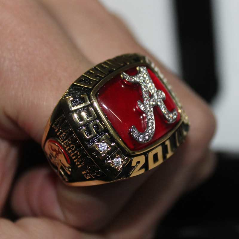 2014 Alabama Crimson Tide Fan Ring