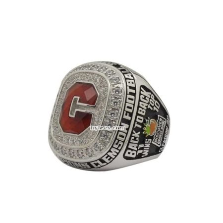 Clemson Orange Bowl Championship Ring 2014