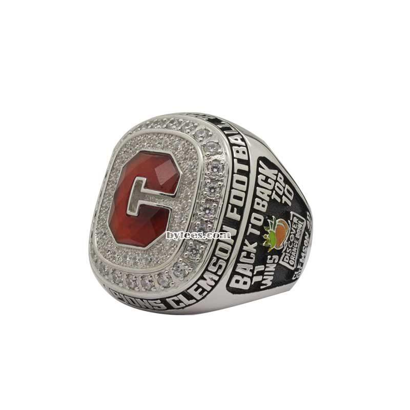 Clemson Orange Bowl Championship Ring 2014