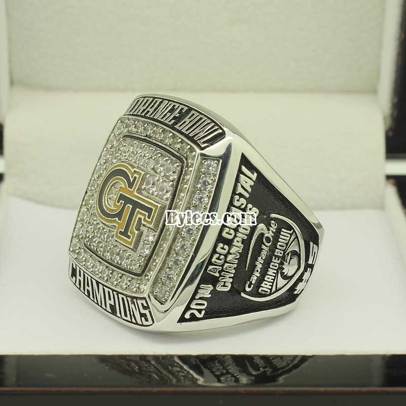 2014 Georgia Tech Yellow Jackets Orange Bowl(Dec) Championship Ring