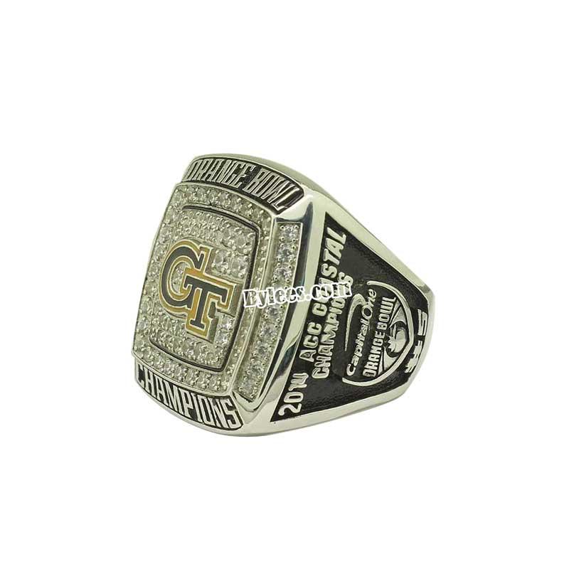 a17a514851620 2014 Georgia Tech Yellow Jackets Orange Bowl(Dec) Championship Ring ...