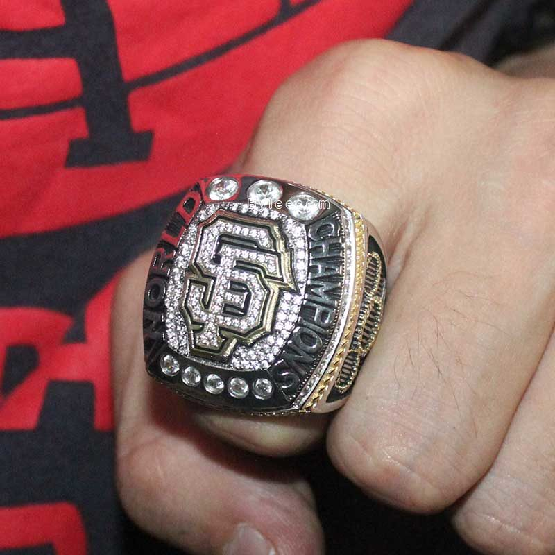 2014 san francisco giants world series ring