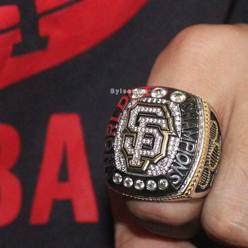 sf giants 2014 world series ring
