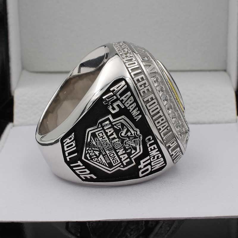 Alabama 2015 CFP National Championship Ring
